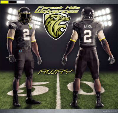 Forest Hills Wolverines Uniform Away