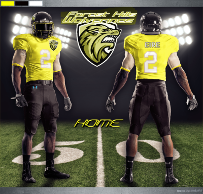 Forest Hills Wolverines Uniform Home