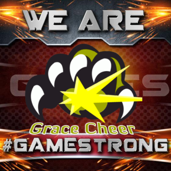 fictional cheer gym #gamestrong image